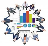 Diversity Business People Strategy Teamwork Support Concept
