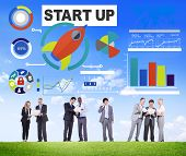 Business Corporate People Start up Discussion Teamwork Concept