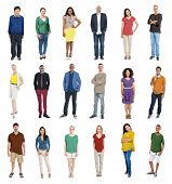 People Diversity Multiethnic Group Community Concept