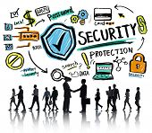 Business People Greeting Partnership Security Protection Concept