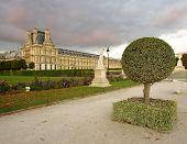 Louvre back yard