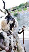 Traditional Masks Of Sardinia.