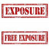 Exposure-stamps