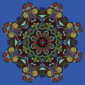 spiritual indian symbol of lotus flower
