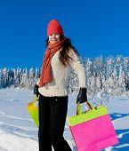 Shopping Happy Girl