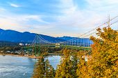 Lion's Gate Bridge,vancouver
