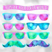 Retro Hipster Glasses Lifestyle