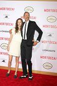 LOS ANGELES - JAN 21:  Emilie Livingston, Jeff Goldblum at the