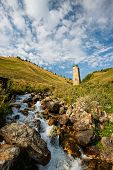 Nature in Georgia, Svaneti, Mestia, Adishi