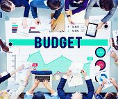 pic of budget  - Budget Finance Banking Profit Concept - JPG