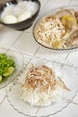 pic of rice  - Food preparation for soto - JPG