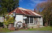 foto of blacksmith shop  - The old Blacksmith - JPG