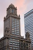 Historic Building In Downtown Chicago