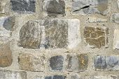 stock photo of homogeneous  - Stone wall background at high resolution - JPG