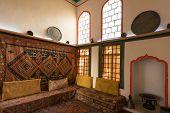 stock photo of harem  - Interiors of the harem in Khan - JPG