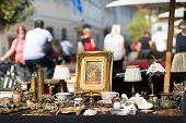 Постер, плакат: Sunday flea market