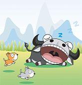 Dormir búfalo