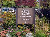 Patient Pick Up Sign