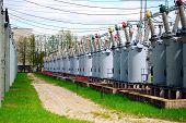 picture of transformer  - VILNIUS LITHUANIA  - JPG