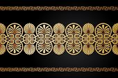 foto of neo-classic  - Ancient Greek floral ornament - JPG