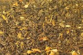 picture of dry fruit  - bright culinary background of dry herbal fruit tea - JPG