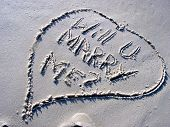 Proposal In The Sand