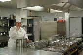 Chef In Kitchen