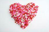 Sprinkles Heart Heart