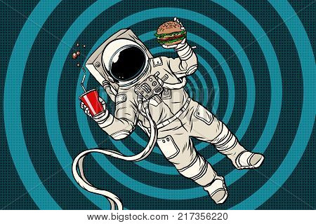 Astronaut in zero