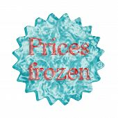 Button Icon: Prices Frozen
