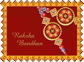 greeting card for rakshabandhan celebration