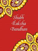 greeting card for shubh rakshabandhan