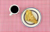 Apple Turnover Pastry With Coffee