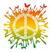 Hippie-Friedenszeichen