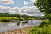 Fluss Ribble landschaftlich