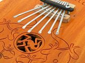 Close up of a Kalimba