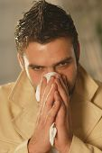 A Man With A Handkerchief