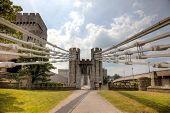 Ponte e do Castelo de Conwy