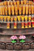 Постер, плакат: Китайский традиционный буддизм свечи