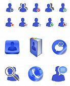 iconos de usuario miembro social