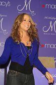 LOS ANGELES, CA - NOV 20: Mariah Carey is at her perfume 'M' launch at Macy's, Glendale Gallery, Glendale, California on 20 November 2007