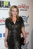 LOS ANGELES - 24 de MAR: Elaine Hendrix llega a los premios de la génesis de 2012 en el Beverly Hilton Hotel