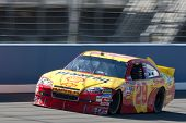 FONTANA, CA. - OCT 9: Sprint Cup Series driver Kevin Harvick in the Shell / Pennzoil #29 car during
