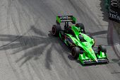 LONG BEACH - APRIL 17: Danica Patrick driver of the #7 Team GoDaddy Andretti Autosport Dallara Honda