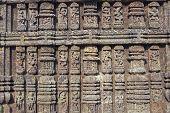 Ornate Hindu Temple Sculpures