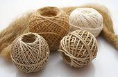 clew. rope. strings