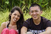 Happy Multi Racial Couple