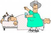 Paciente enfermo