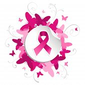Butterfly Breast Cancer Awareness