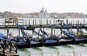 Gondolas In Pier